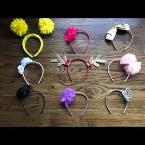 Gymboree headbands lot VGUC
